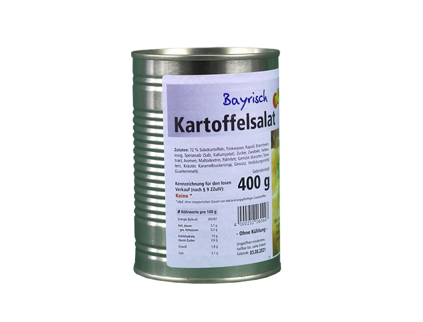 5x Kartoffelsalat bayrisch 400g