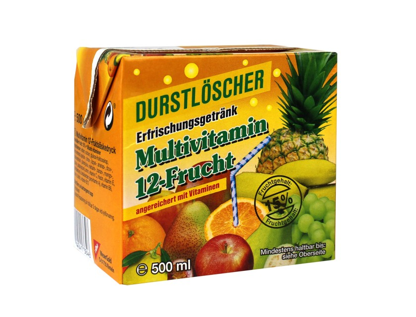 Durstlöscher Multivitamin 500ml