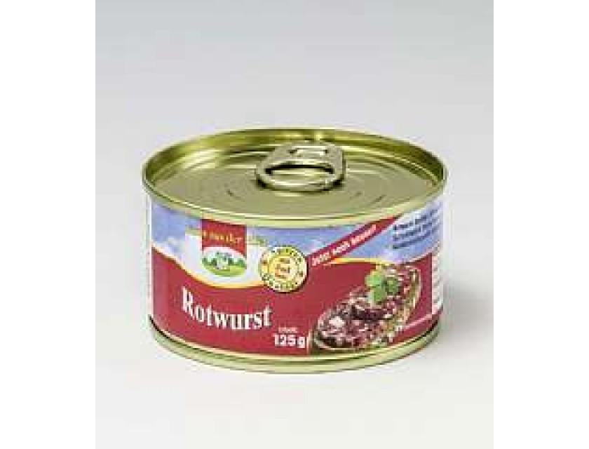 125g Rotwurst