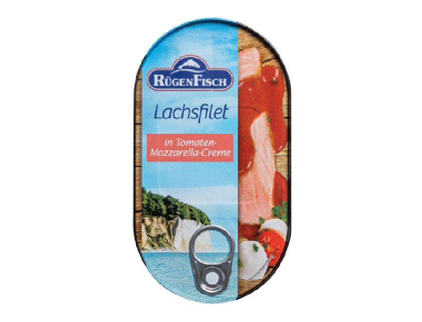 Lachsfilet in Tomaten-Mozzarella-Creme 200g
