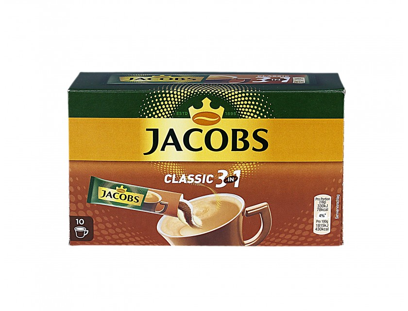 Jacobs 3 in1 10 x 18g