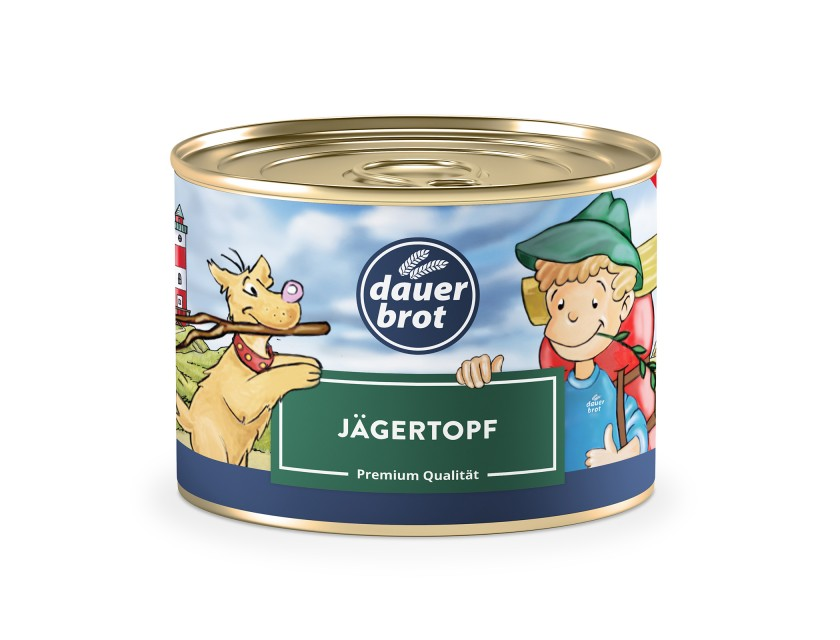 Jägertopf 400g dauerbrot