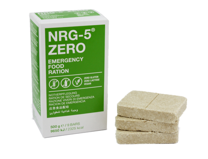 5x NRG-5® ZERO Notration  - glutenfrei
