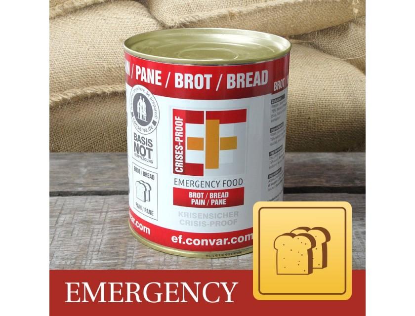 EF Brot Emergency Food Dosenbrot 320g