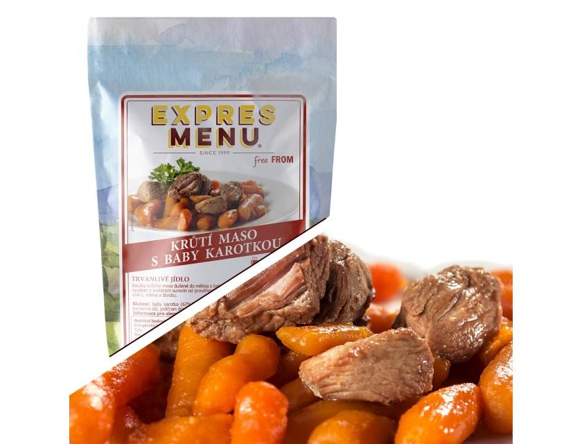 Truthahnfleisch mit Karotten 300g