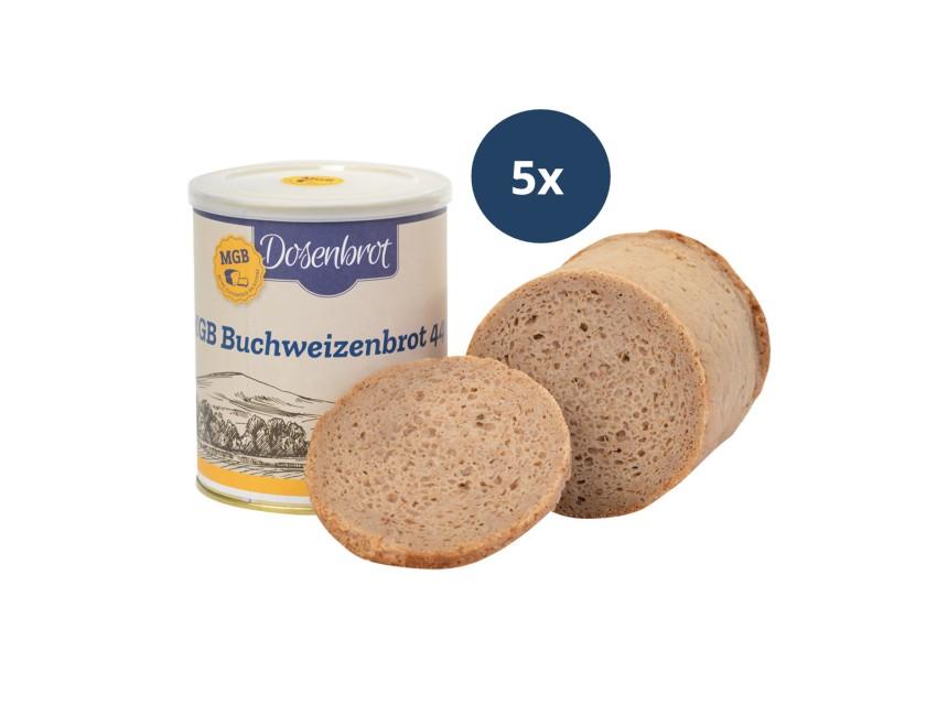 5x Buchweizenbrot 440g
