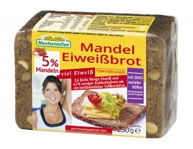 Mestemacher Mandel Eiweißbrot 250g