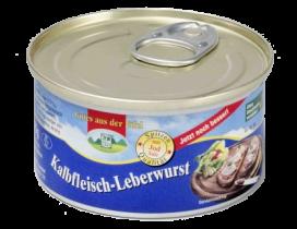 125g Feine Leberwurst mit Kalbfleisch