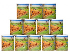 36x500g Dosenbrot Hausmarke 18+18 sortiert