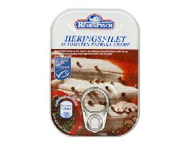 Heringsfilets in Paprika-Creme 200g