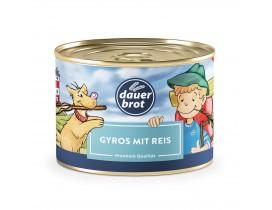 Gyros mit Reis 400g dauerbrot
