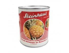 Ananas Scheiben o. Zucker Steinhaus 850 ml