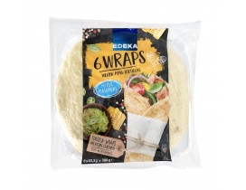 Tortillas Wraps 380g