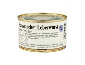 12x 400g Hausmacher Leberwurst