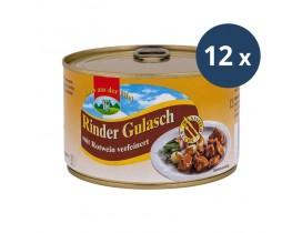 12x Rinder-Gulasch 400g