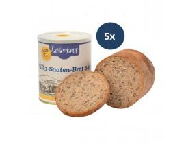 5x 3-Saaten-Brot 440g