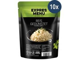 10x Reis gedünstet 500g