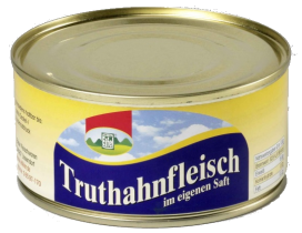 12x Truthahnfleisch 300g